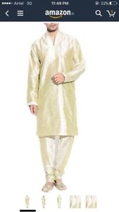 Indian men's designer clothing kurtas garva sherwani achakan