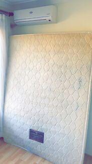 Queen sized comfort sleep mattress free