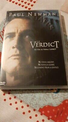 dvd film thriller LE VERDICT paul newman rare + bonus