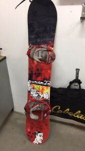 Division 23 snowboard and boots