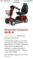 Brand new scooter