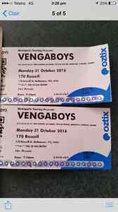 2 Venga boys tickets Marks Point Lake Macquarie Area Preview