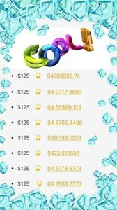 GOLD MOBiLE NUMBERS- 9 NEW!! Sydney City Inner Sydney Preview