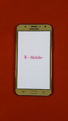 Samsung Galaxy J7 Sm J700t T Mobile 16Gb White Gsm 4G Android  Scorching