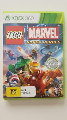 LEGO Marvel Super Heroes Xbox 360 VGC PAL