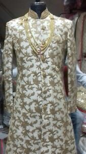 Indian pakistani Mens groom sherwani on rent kurta salwar koti