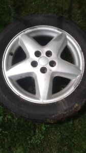 5x100 rims and tires