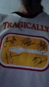 Tragically Hip signed jersey