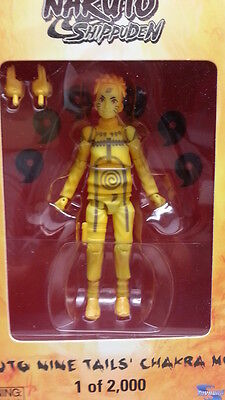 2012 SDCC Exclusive Naruto Shippuden Nine Tails Chakra Mode Action Figure (Naruto Shippuden Naruto Nine Tails Chakra Mode)