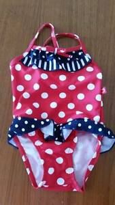 3 pairs - Girls swimming costumes sizes 00, 1 & 2 East Corrimal Wollongong Area Preview