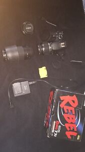 Canon Rebel T3I Package $800