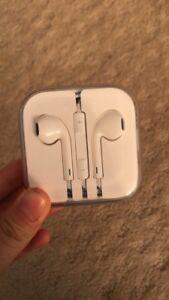 UNOPENED Apple EarPods with headphone plug,