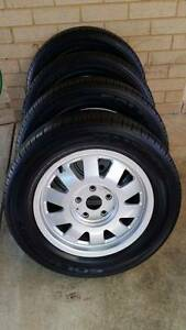 4 x 205/60R15 Kumho Tyres c/w Audi Alloy rims South Lake Cockburn Area Preview