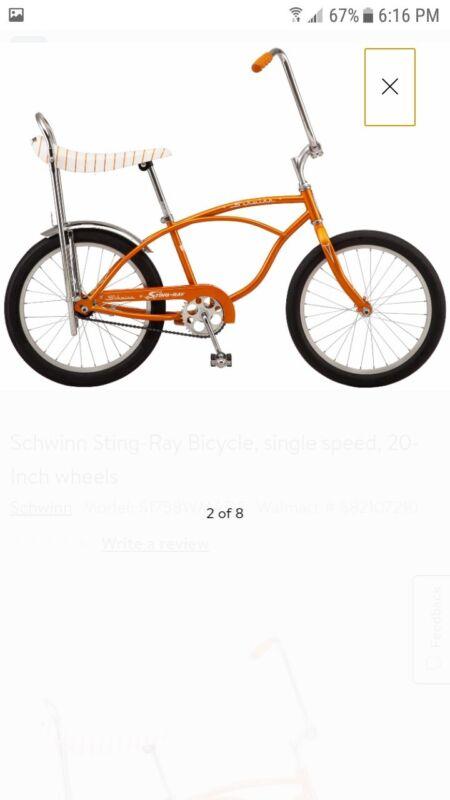 Schwinn Stingray  Bicycle Nib Choice Of Color Coppertone  Green Blue  pink