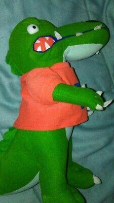Univ. of Florida Gators NCAA Toy Factory Plush Alligator Mascot Animal 12