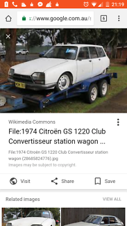 1974 Citroen gs1220 club historical vehicle to sydney has history Sydney City Inner Sydney Preview