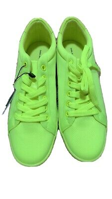 Women Zara Neon Shoe Size 7 New Without Box
