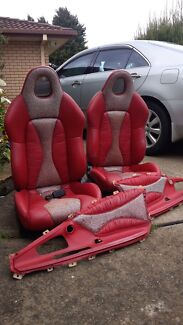 Bucket seats - leather  Campbelltown Campbelltown Area Preview
