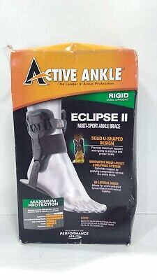 Active Ankle Eclipse II Ankle Brace (Small) Fits Left Or Right Ankle