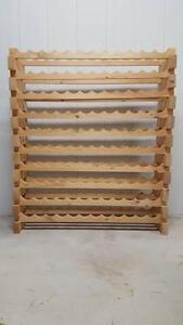 Wine Rack - Pine - Modular 10 Dozen Concord West Canada Bay Area Preview