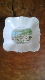 Vintage English bone china vanity dish - Royal Stafford