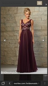 Morilee - Eggplant Long Gown