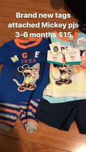 3-6 month summer outfits brand new