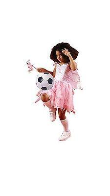 Arsenal Football Fairy Pink Fancy Dress Girls Kit Christmas Costume Dress  - Football Costume For Girls