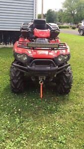 2009 650 brute force v-Twin only ***3100km's**