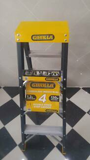 double sided A-frame ladder