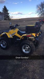07 can am outlander 800 low km!