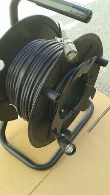 200 FT PRO CAT5e Tactical Shielded w/Neutrik Ethercon RJ45 Digital Cable on reel