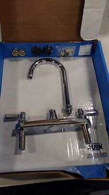 *BOX DMG*  Zurn Z871B1-XL-2F Aqua Spec Kitchen Sink Faucet with 5-3/8