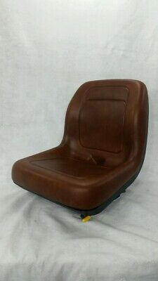Brown Skid Steer Loader Bucket Seat Fit 410 420 420ct 430 435 440 440ct Har