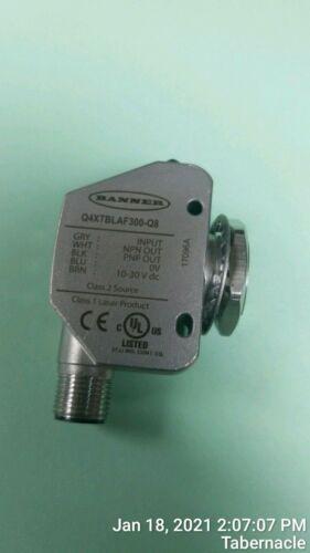 BANNER Q4XTBLAF300-Q8 Q4X SERIES RUGGED LASER DISTANCE SENSOR 94118