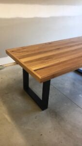 Recycled Hardwood Dining Table.