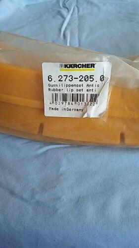 KARCHER SQUEEGEE BLADE SET # 6.273-205.0 , K62732050 Anti stripe