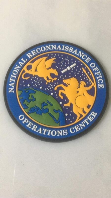 NRO - NOC - NATIONAL RECONNAISSANCE OPERATIONS CENTER - USAF USSF PVC PATCH
