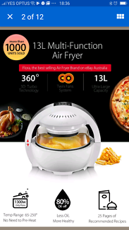 Air fryer Oven Cooker White