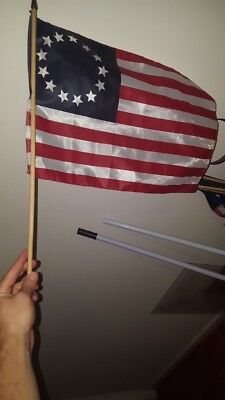 TURN AMC Washington Spies used small flag prop last episode + 10 Currency Bills