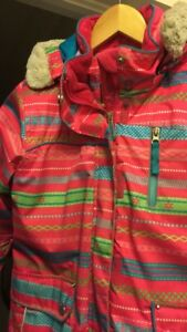 Jupa girls size 8 snowsuit