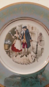 PIATTO-PORCELLANA-HUTSCHENREUTHER-MOMEMBERG-LONDON-PORCELAIN-DISH-LAVANDERY-LAVA