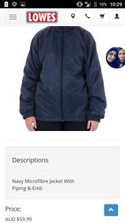 Pascoe Vale Girls Jacket Size 16
