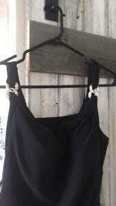 Formal Black Full Lenth Dress