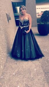 Size 8 Ball Gown Dress