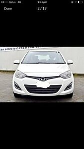 Quick sale Hyundai i20 PB MY 14 active white 4 Speed automatic Coorparoo Brisbane South East Preview