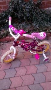 Girls 12 inch wheels bike