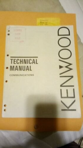 Kenwood Communications Technical Reference Manual