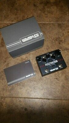 Wampler Fuzztration fuzz / octave in mint condition 100% tested perfect