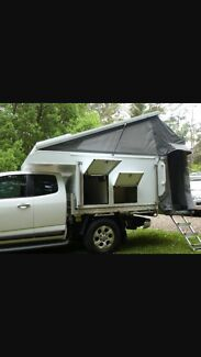 Tray Tek Tailgater Plus Slide On Camper in Brand New Condition Logan Village Logan Area Preview